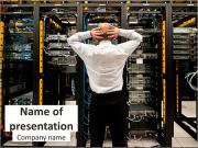 Data Center Specialist PowerPoint Templates