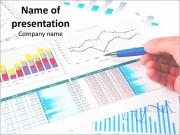 Complex Financial Diagram Plantillas de Presentaciones PowerPoint