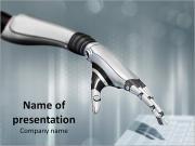 Robot's Hand Szablony prezentacji PowerPoint