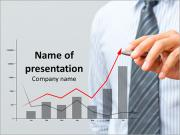 Financial Director Drawing Graph Plantillas de Presentaciones PowerPoint