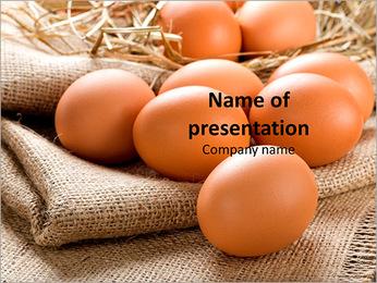 Organic Eggs PowerPoint Template