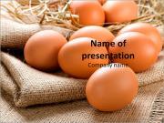 Organic Eggs PowerPoint Templates