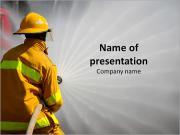 Call Fireman Modèles des présentations  PowerPoint