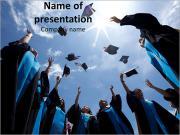 Celebrating Graduates Modelos de apresentações PowerPoint