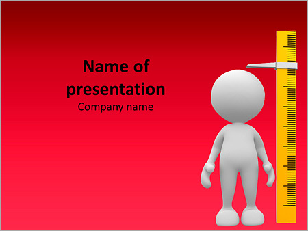 3d child measuring height powerpoint template backgrounds id 3d child measuring height powerpoint template toneelgroepblik