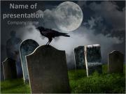 Scary Graveyard Modèles des présentations  PowerPoint