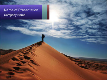 Beautiful Dune PowerPoint Template