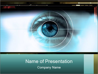 Eye Sight PowerPoint Template