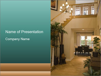 Cozy Hall Design PowerPoint Template