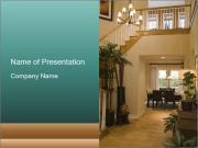 Cozy Hall Design PowerPoint Templates
