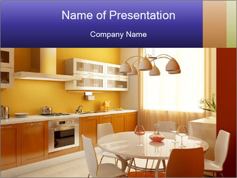 Cosy Kitchen PowerPoint Template