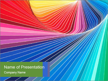 Color Patterns PowerPoint Template