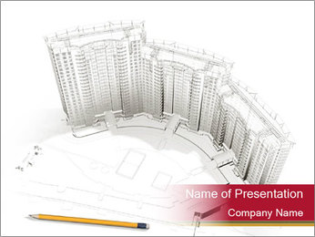 Design of New Skyscraper PowerPoint Template