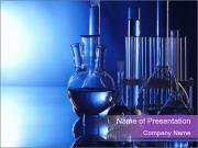 Glass Tube in Chemistry Lab PowerPoint-Vorlagen