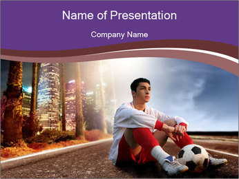 Football Champion PowerPoint Template