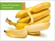 Pilled Banana PowerPoint Templates