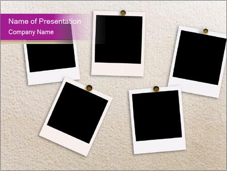 set of polaroid photos powerpoint template backgrounds google