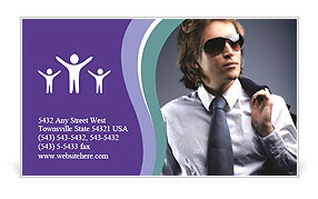 0000012030 Business Card Template