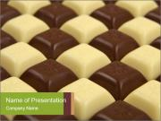 Black and White Chocolate PowerPoint Templates