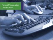 PC Keyboard Шаблоны презентаций PowerPoint