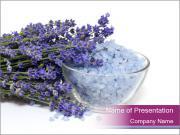 Lavender Sea Salt PowerPoint Templates
