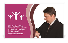 0000012187 Business Card Template