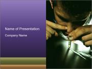 Narcotic Addiction Modèles des présentations  PowerPoint