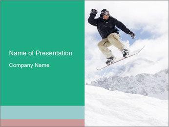 Snowboarding School PowerPoint Template