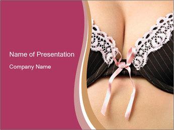 Pushup Bra PowerPoint Template