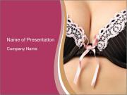 Pushup Bra PowerPoint Templates