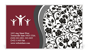 0000012275 Business Card Template