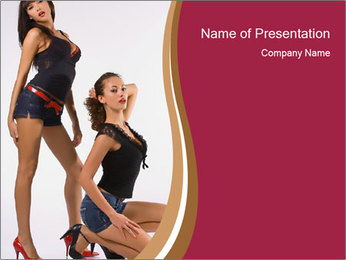Modeling Agency PowerPoint Template
