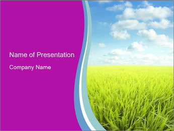 Meadow View PowerPoint Template