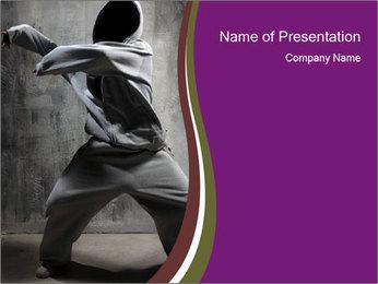 Stylish Hip Hoper PowerPoint Template