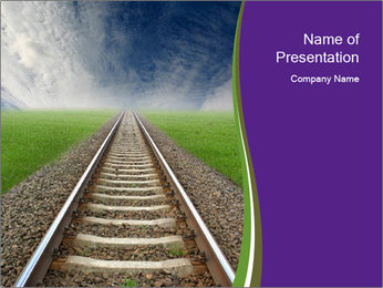 New Railway PowerPoint Template