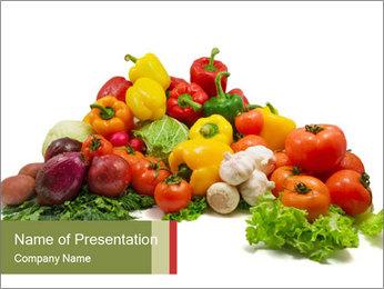 Ripe Veggies PowerPoint Template