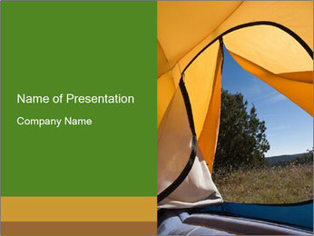 View from the Doorway PowerPoint Template