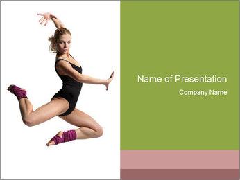 Famous Ballerina PowerPoint Template