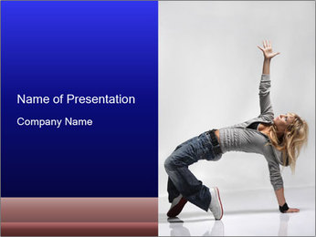 Jazz Modern Show PowerPoint Template