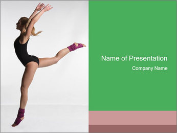 Ballet Classic Choreography PowerPoint Template