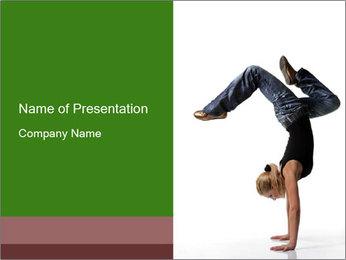 Jazz Modern Choreography PowerPoint Template