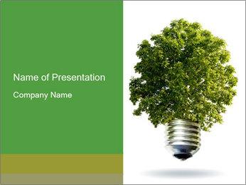 Eco Light Bulb PowerPoint Template