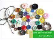 Cute Buttons PowerPoint Templates