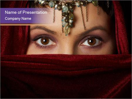 Oriental Beauty Powerpoint Template Backgrounds Google Slides
