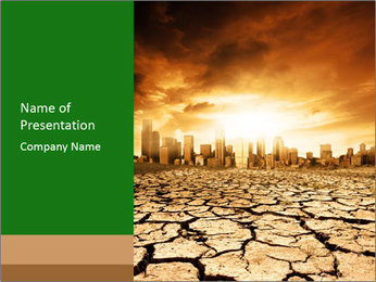 Environment Problem PowerPoint Template