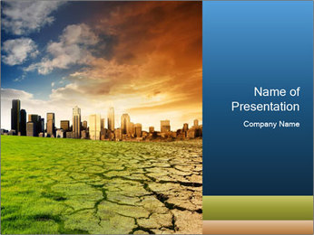 Global Warming Issue PowerPoint Template