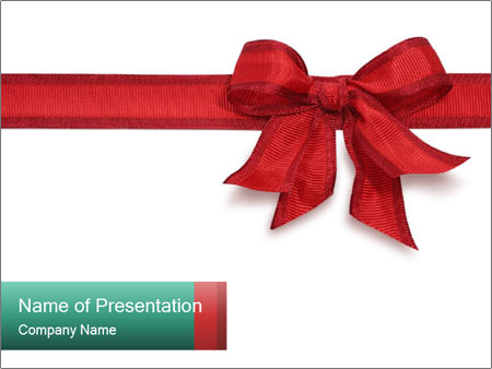 Wrapped gift with red ribbon powerpoint template backgrounds id wrapped gift with red ribbon powerpoint templates negle Image collections