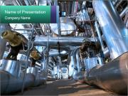 Huge Industrial Pipes Modèles des présentations  PowerPoint