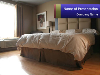 Soft Bed PowerPoint Template