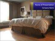 Soft Bed PowerPoint Templates